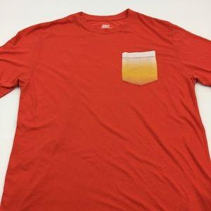 Nike Tee Pocket Gym Active T Shirt Size Large
